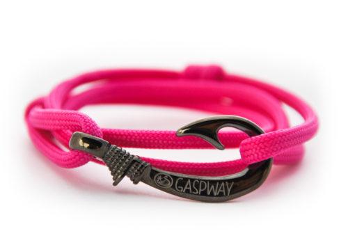 braccialetto amo da pesca pink amo canna di fucile