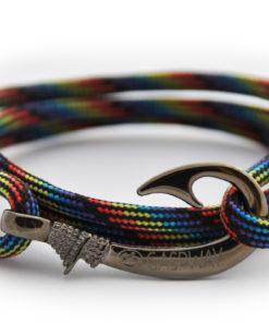braccialetto-amo-da-pesca-black-rainbow-camo-amo-canna-di-fucile