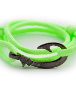 braccialetto-amo-da-pesca-night-fluo-green-amo-canna-di-fucile