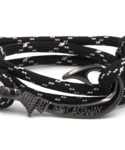 braccialetto gaspway amo da pesca black pink x amo canna di fucile