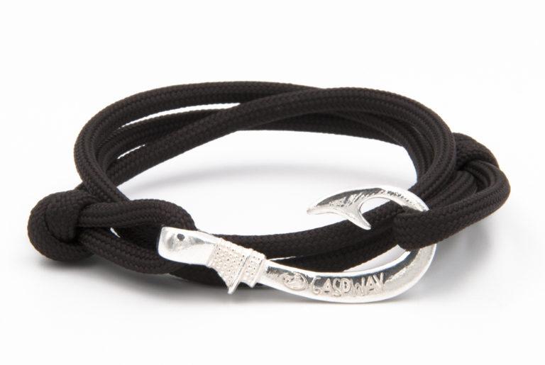 braccialetto gaspway amo da pesca dark coffee amo acciaio