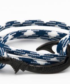 braccialetto gaspway amo da pesca navy white amo nero