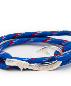 braccialetto amo da pesca gaspway blueberry stripe amo argento