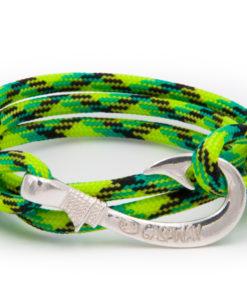 braccialetto amo da pesca gaspway gecko amo argento