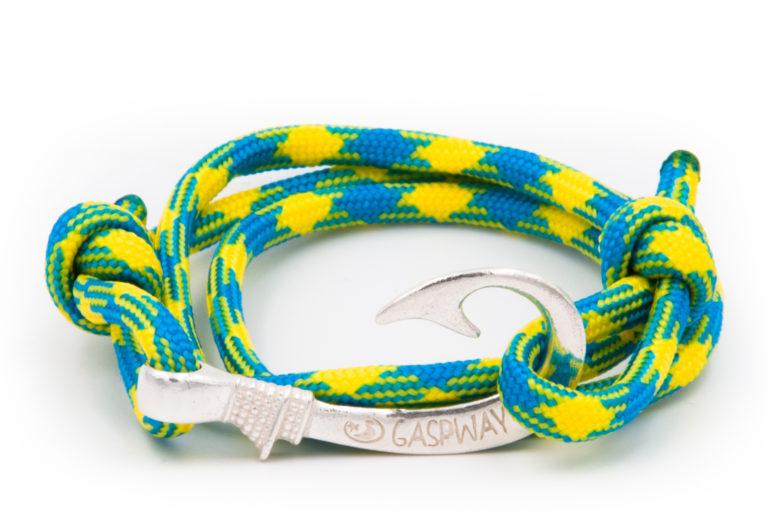 braccialetto amo da pesca gaspway tropical amo argento